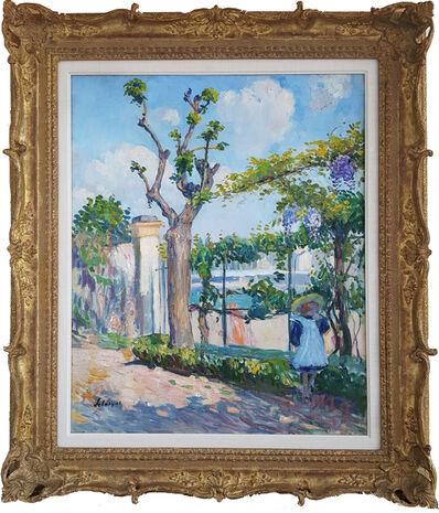 Henri Lebasque, '     Le Jardin de Lagny', 1904