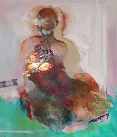 Magdalena Morey, 'Continuity 2 - abstract figurative nude', 2020