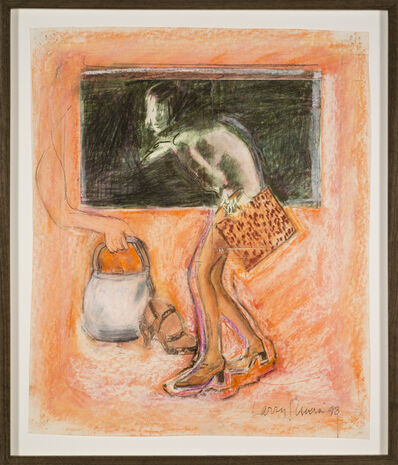 Larry Rivers, 'Study for Figure, Shoes and Bag', 1998
