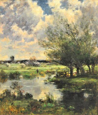 John Appleton Brown, 'Verdant Landscape', ca. 1880