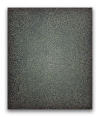 Eberhard Ross, '11619 black writing', 2019
