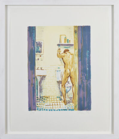Hugh Steers, 'White Gown, Blue Rug, Sink and Bowl (three works)', 1995