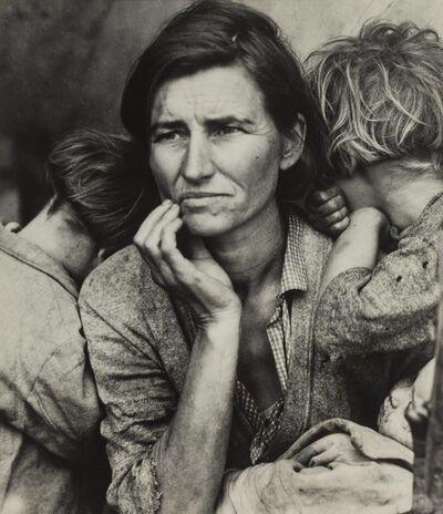 Dorothea Lange, 'Migrant Mother, Nipomo, California'