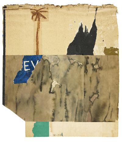 Karl Bohrmann, 'Landschaft mit Palme und Berg (Landscape with palm tree and mountain)', 1990