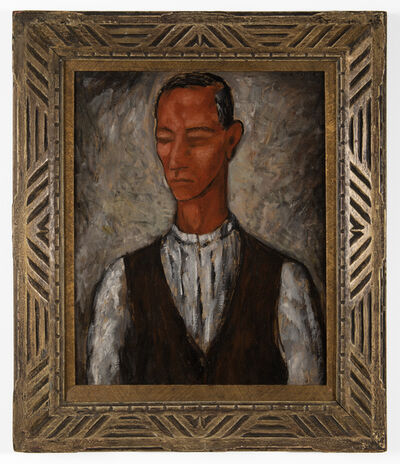 Marco Aurelio Tricca, 'untitled (Man in Vest)'