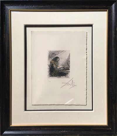 Salvador Dalí, 'Faust Lisant (Vignette)', 1969