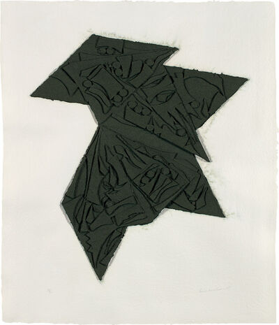Louise Nevelson, 'Six Pointed Star', 1980