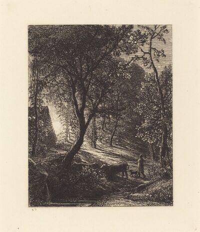 Samuel Palmer, 'The Herdsman's Cottage', 1850