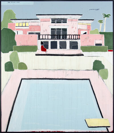 Rob Tucker, 'A Hollywood Hills Poolside Mansion', 2020