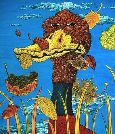 Robert Joseph Warrens, 'Duck of Peace', ca. 1973