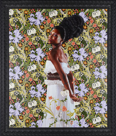Kehinde Wiley, 'Mrs. Waldorf Astor', 2012