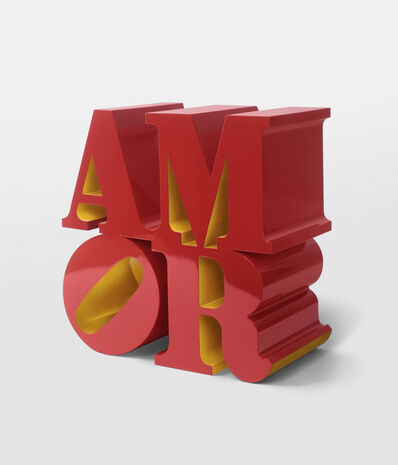 Robert Indiana, 'AMOR (Red Yellow)', 1998