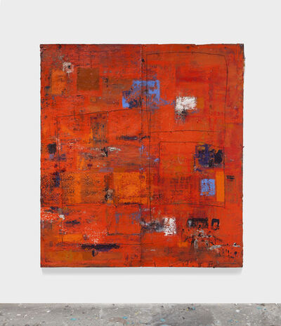 Hugo McCloud, 'Untitled, safety series orange', 2014