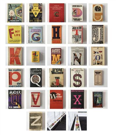 Luis Molina-Pantin, 'Untitled (Alphabet)'