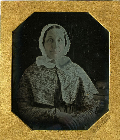 John Plumbe, 'Portrait of a Sweet Woman, Daguerreotype', 1840s