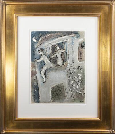 Marc Chagall, 'David sauvé par Michal (David Save by Michal), M 250/273', 1960