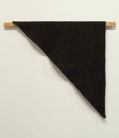 Helen Mirra, 'Waulked Triangle, NH01/CT04d', 2014