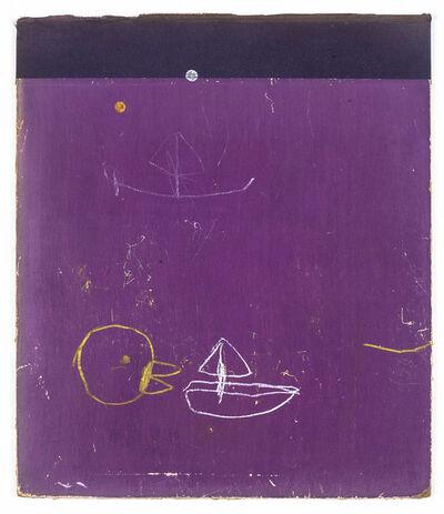 W Tucker, 'yellow, white, purple, black', 2014