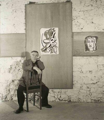 André Villers, 'Fernand Léger chez Roland Brice à Biot', 1954