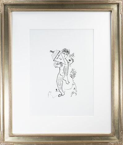 Marc Chagall, 'Back Cover of Derrière le Miroir #235, M 946', 1979