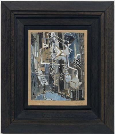 Albert Gleizes, 'Downtown', 1916