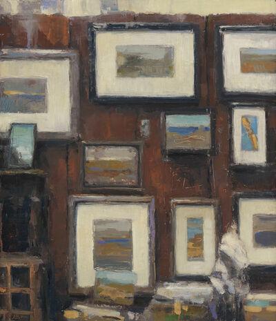 Jeff Bellerose, 'Studio Wall', 2019