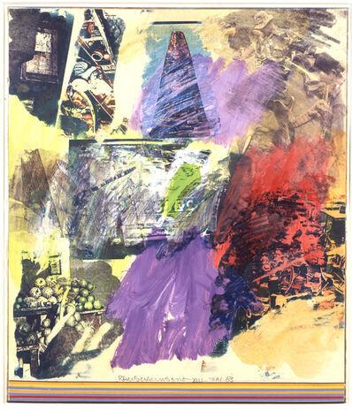 Robert Rauschenberg, 'Thai XIII', 1983