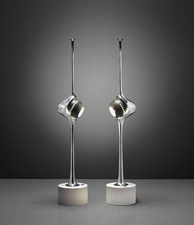 Angelo Lelii, 'Two 'Cobra' table lamps, model no. 12919', circa 1962
