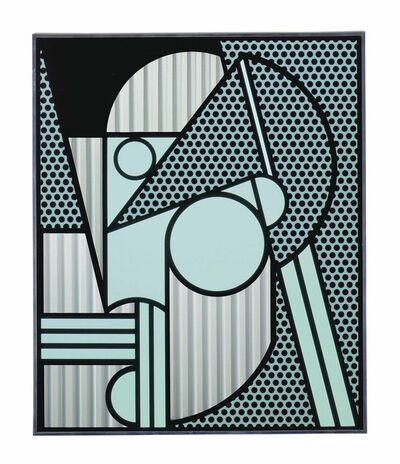 Roy Lichtenstein, 'Modern Head #4', 1970