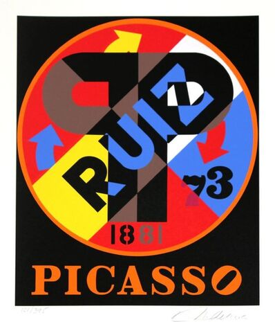 Robert Indiana, 'Picasso Ruiz', 1997