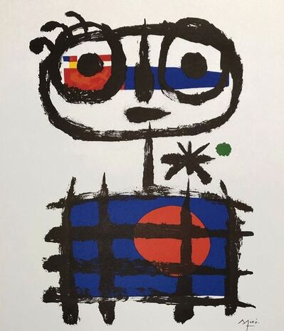 Joan Miró, 'Abstract Boy', Non dated