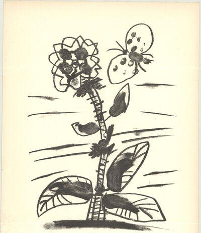 Pablo Picasso, 'De Memoire D'Homme IX', 1950