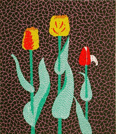 Yayoi Kusama, 'Tulip 38/75 ', 1986