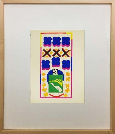 Henri Matisse, 'Poissons Chinois', 1958