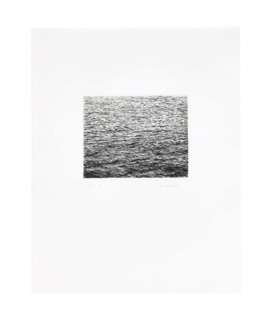 Vija Celmins, 'Ocean Surface (Second State)', 1985