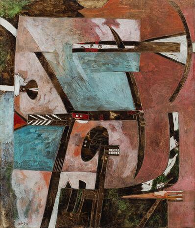 Gianni Dova, 'La Gabbia', 1961