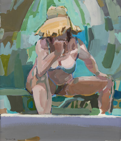 Kim Frohsin, 'Palm Shade Thinker', 2018