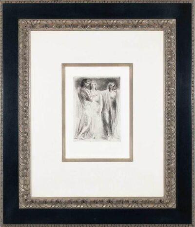 Pablo Picasso, 'Les Trois femmes', 1925; date of publication c. 1947