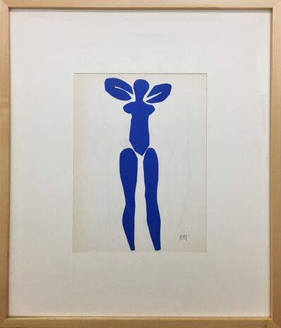 Henri Matisse, 'Nu Blue Debout', 1958