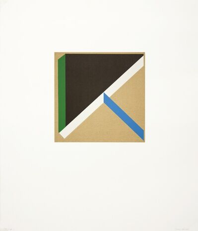 Tony Delap, 'Too Much Green III', 2012