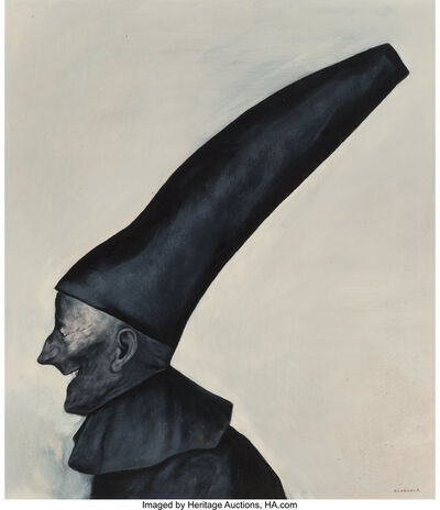Rafael Coronel, 'Untitled (Man with hat)'