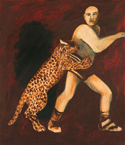 Fritz Scholder, 'Man + Friend', 1996