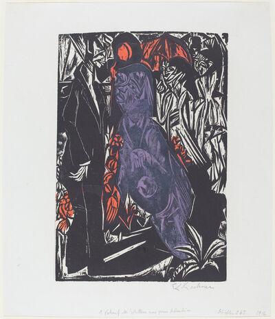 Ernst Ludwig Kirchner, 'Verkauf des Schattens', 1915