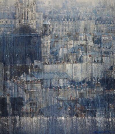 Chizuru Morii Kaplan, 'Parisian Rooftops IV', ca. 2021