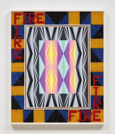 Jeffrey Gibson, 'FIRE', 2020