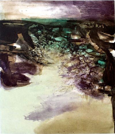 Zao Wou-Ki 趙無極, 'Composition VI, from: Canto Pisan', 1972