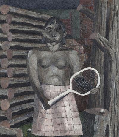 Rufino Tamayo, 'La tenista', 1932