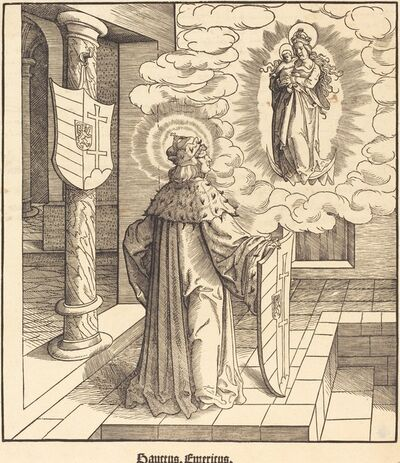 Leonhard Beck, 'Saint Emericus', 1516/1518