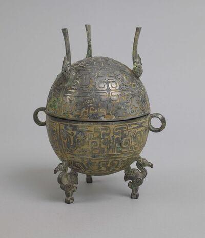 'Early Warring States Dec. Bronze Tripod Dui', 499 -400 BCE