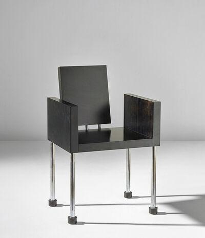 Ettore Sottsass, 'Miss, don't you like caviar? armchair', circa 1987